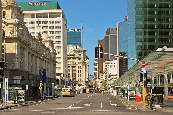 City in New Zealand