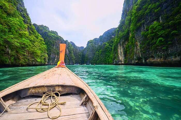 Explore the lush environs of the surrounding marine national park