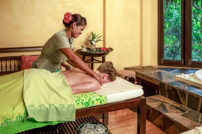 Get pampered at the Wana Spa