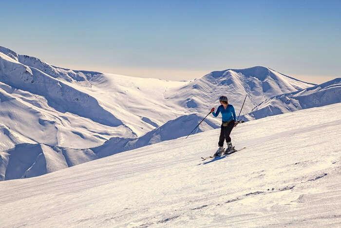 Go Skiing In Auli uttarkashi