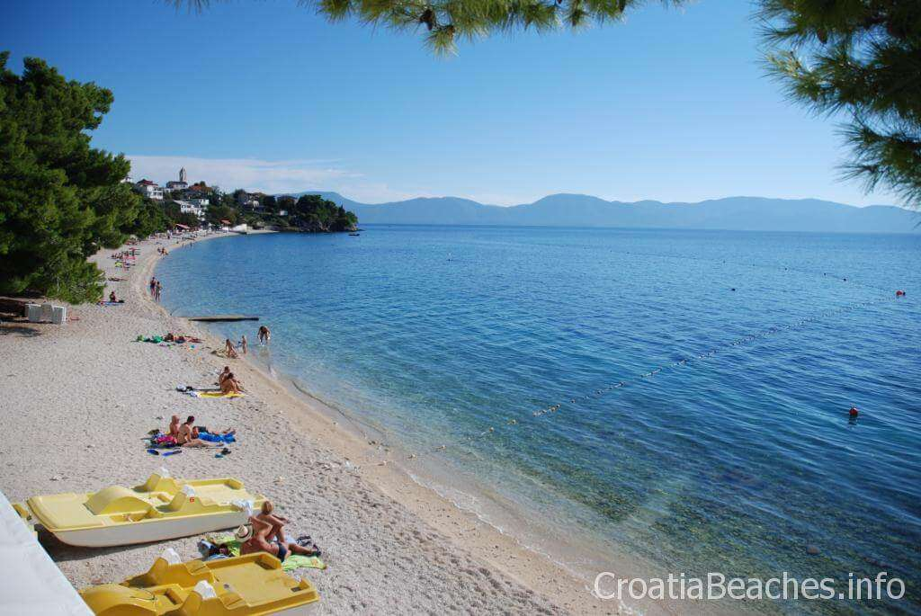 Gornja Vala Beach in Croatia