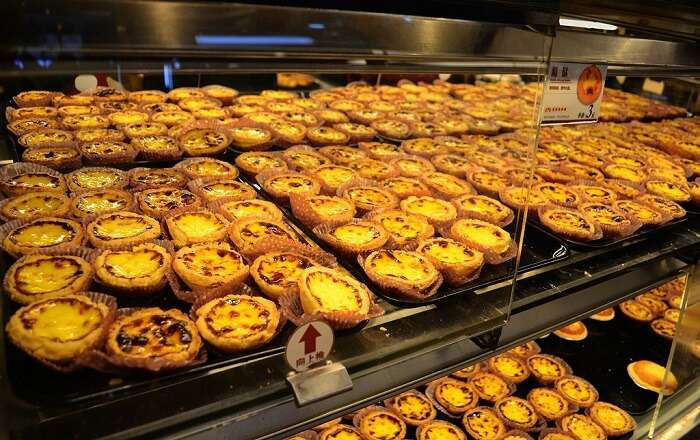 Hog up egg tarts - Portuguese Special