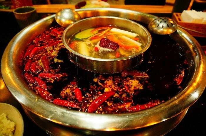 Hot Pot Of Sichuan