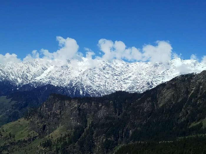 beautiful view of kufri