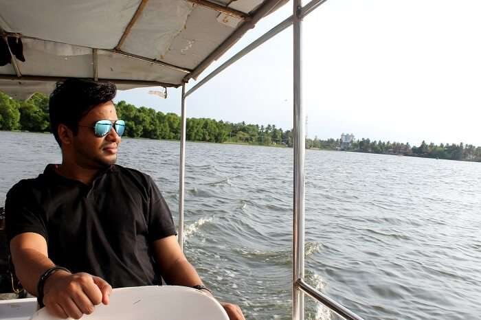 boat ride in cochin