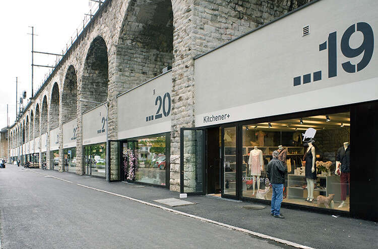 showrooms of brands and labels
