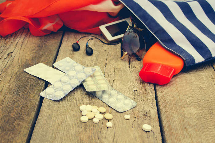 Medicines to carry while travelling