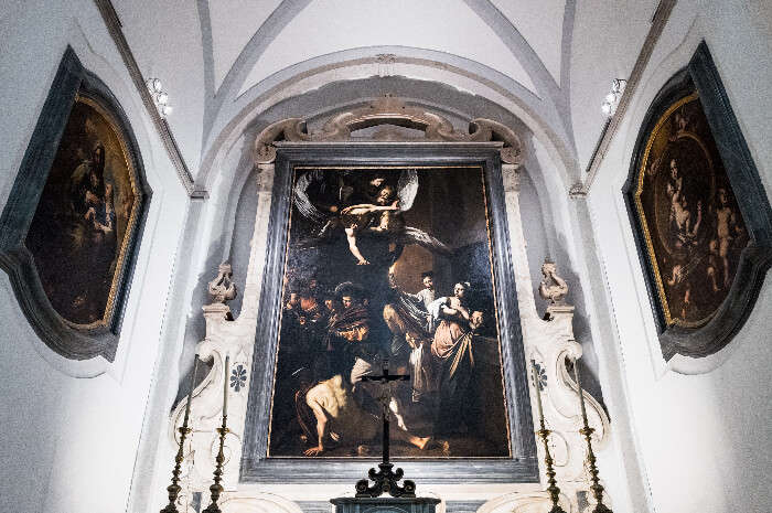 A real work by Michelangelo preserved in Naples, Italy