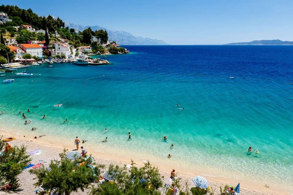Omis Beach Croatia