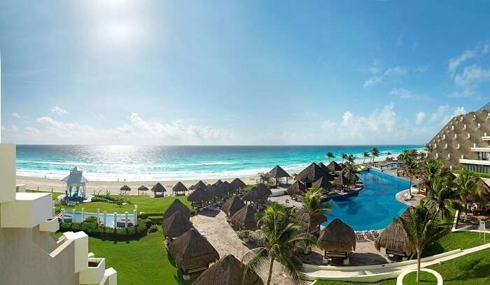 it offers great ocean views