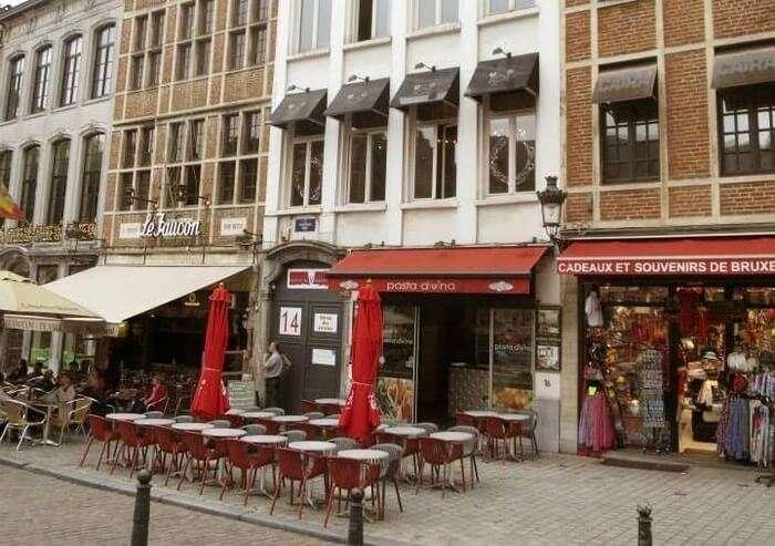 the best Italian restaurants in Brussels