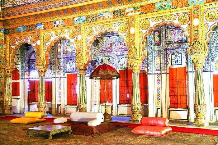 Phool Mahal mehrangarh fort
