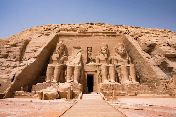 Rock Temples of Abu Simbel egypt