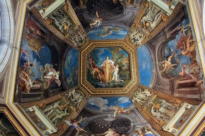 Rooftop of Vatican museums