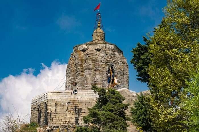 hankaracharya Temple, dedicated to Shiva