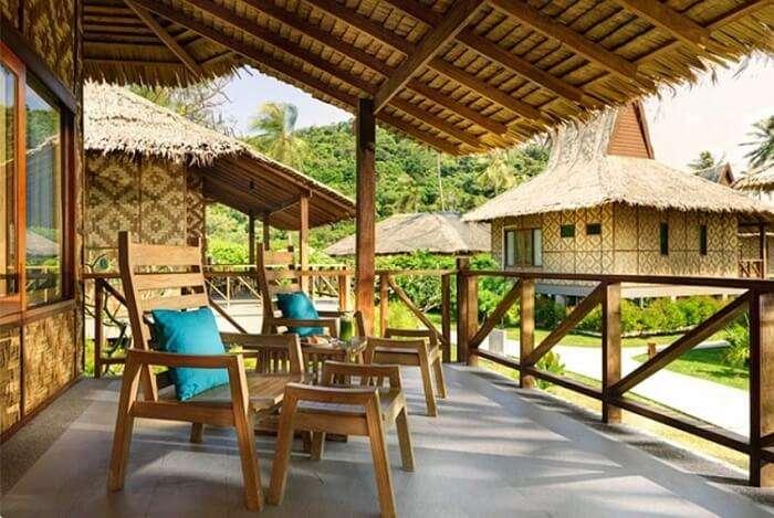 Stay at Thai styled lavish accommodations
