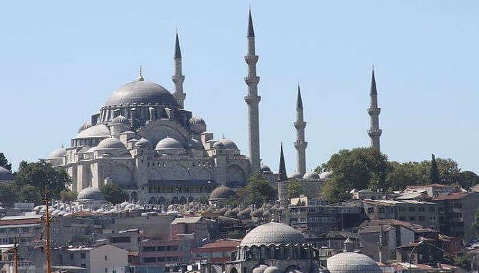 Suleymaniya Mosque Turkey