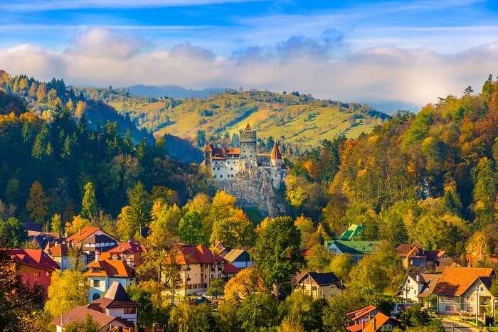 Transylvania, Romania castle