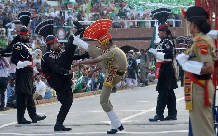 Wagah Border - Epitomizing patriotic fervor