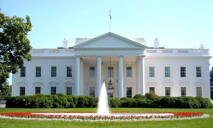 A view of White House