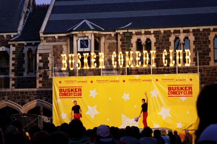 World Buskers Festival, NZ