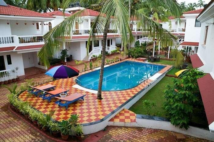pool of aromiaa villa