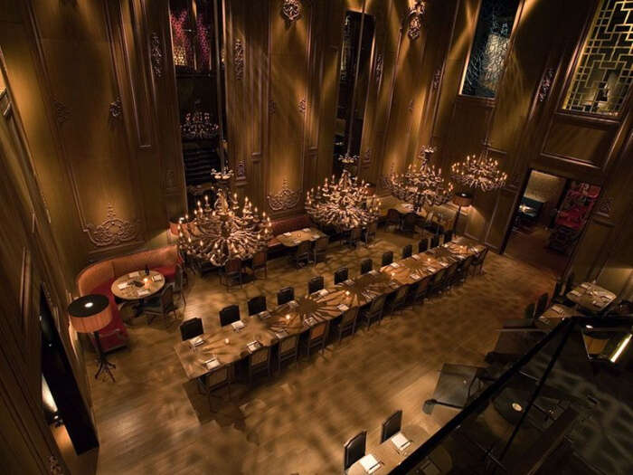 food and ambiance are a delight to the senses