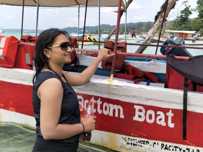 climbing boat