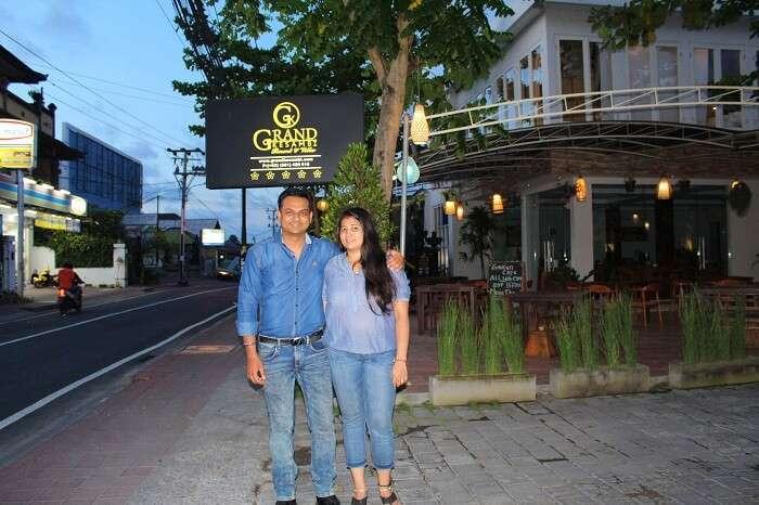 romantic vacation in bali