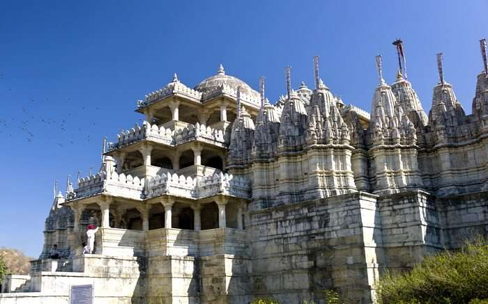 Beautiful Dilwara Temple in Mount Abu