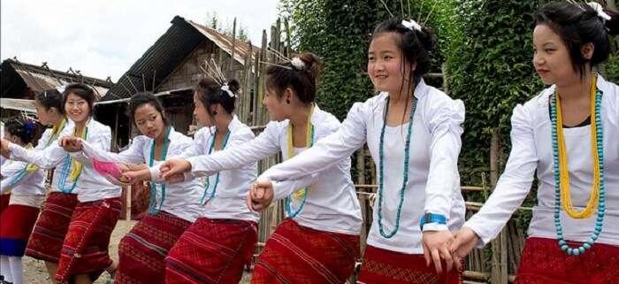 girls dancing during dree