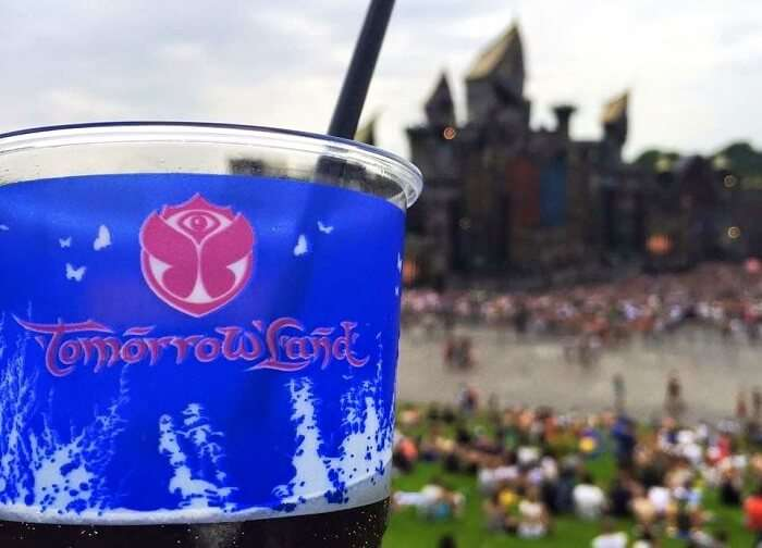 drink in tommorowland