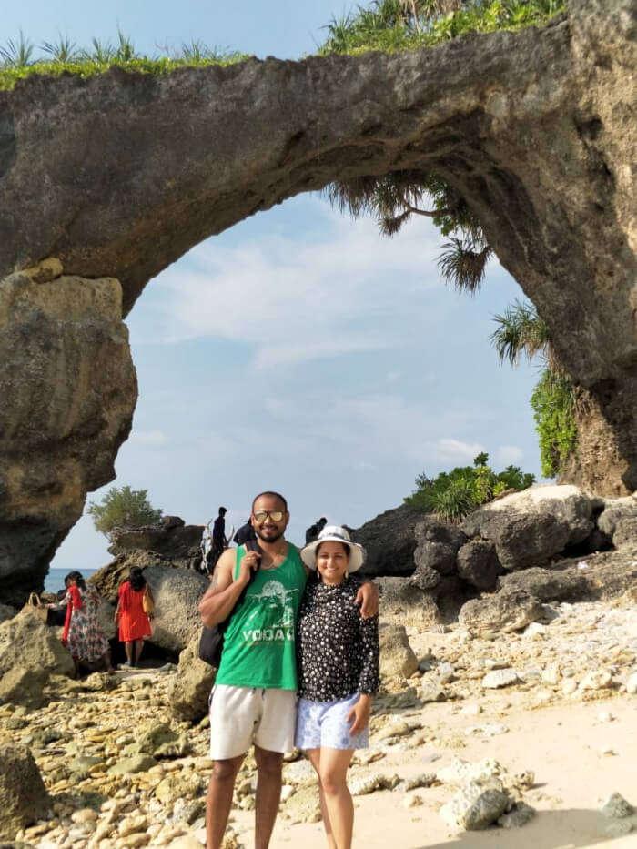 rahul andaman honeymoon at island