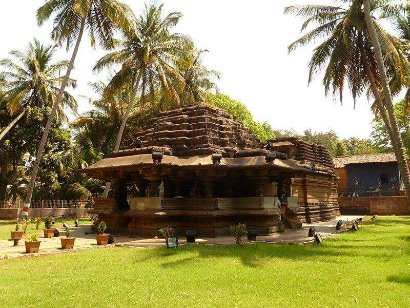 religious place is built in Chalukyan style architecture