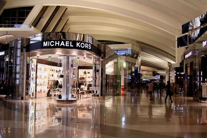 MK store in LAX