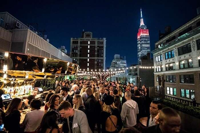 rooftop bar in NYC