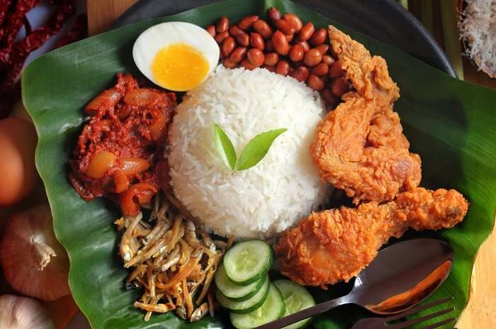 a delicious and sumptuous rice breakfast dish
