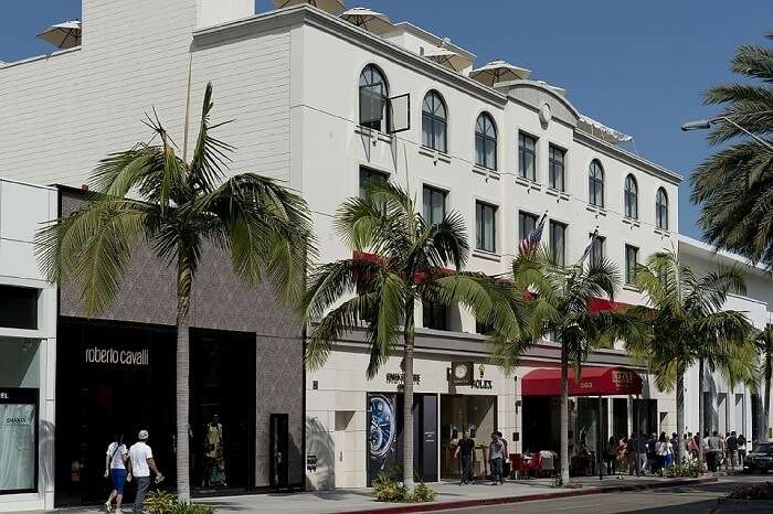 Shopping ate Rodeo Drive