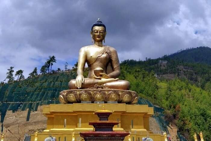 rohit bhutan family trip travelogue tallest buddha statue