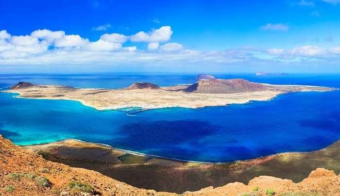 La Graciosa Island in Spain