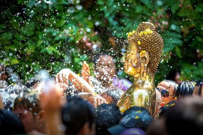 Water Festival Songkran Thailand