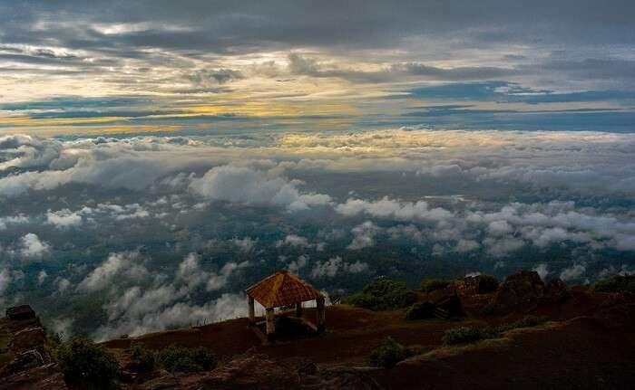 Skandagiri Hills South India