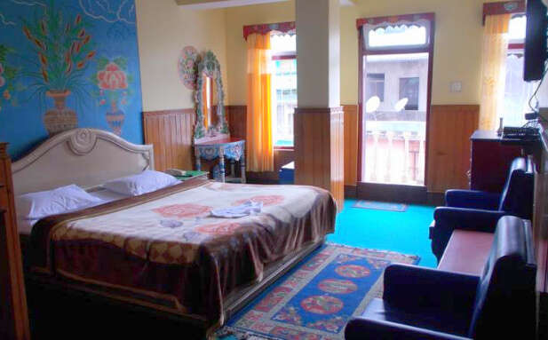 snow lion resort lachung sikkim