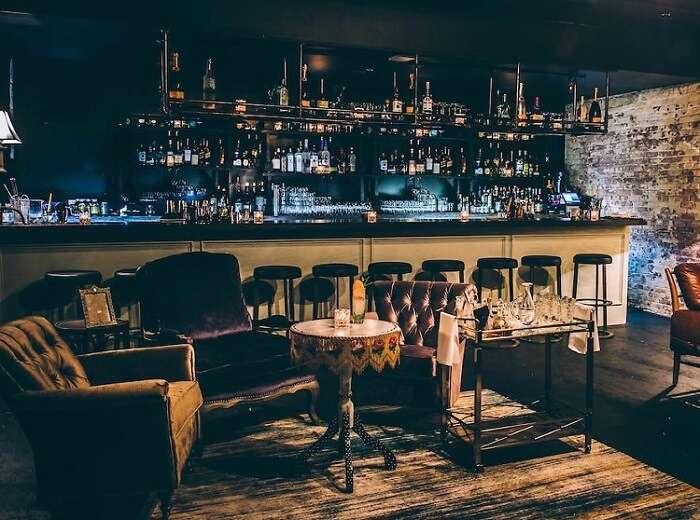 Speakeasy bar NYC