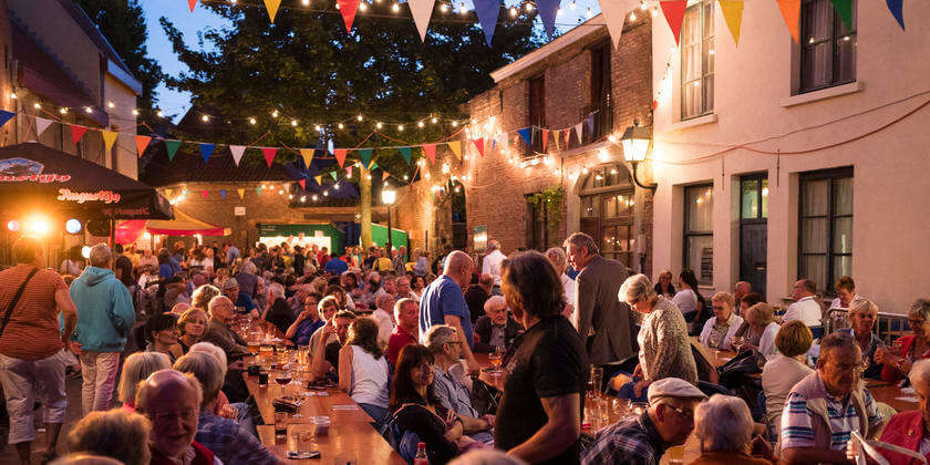 street parties in the city is very popular