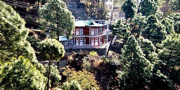 stunning views of Shimla and Solan Hills