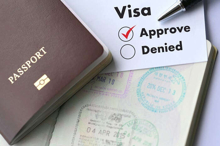 visa approved passport