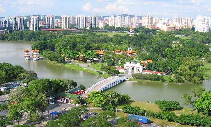 Jurong Lake in Singapore