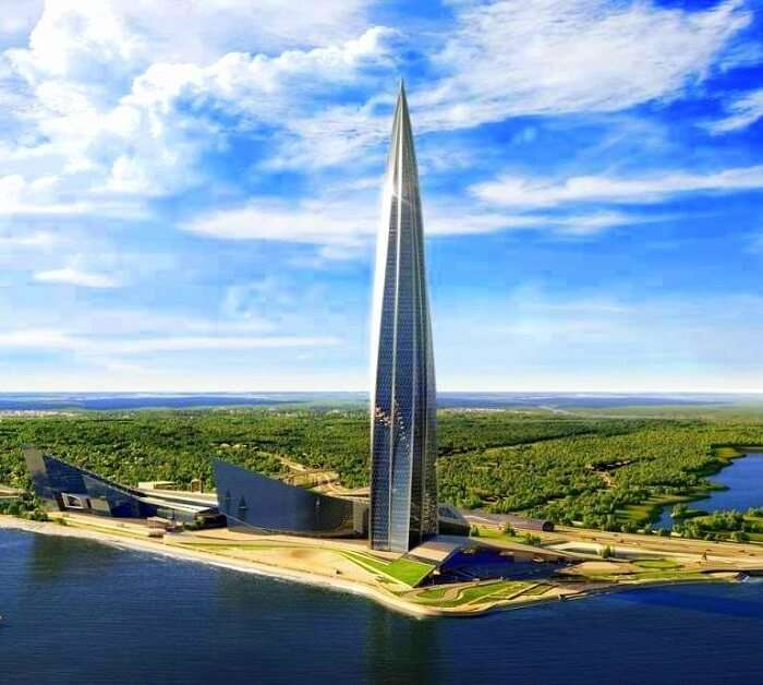Lakhta Tower, Europe