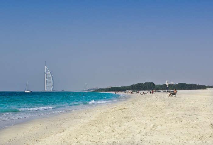 scintillating sand of beach, charming views